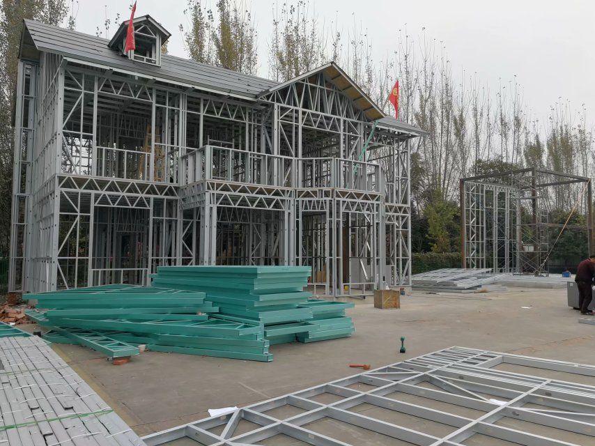 轻钢别墅工厂,设计、施工、批发等一站式工厂