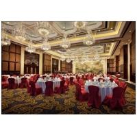 北京酒店窗帘定做宴会厅椅套定做台布台裙台呢定做