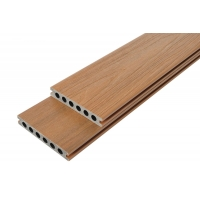 共挤系列塑木地板户外室内庭院露台园林工程长条木塑板材拼接塑木