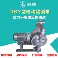DBY电动隔膜泵  排污泵 杂质泵 油漆泵 甲醇泵