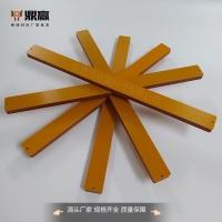 橘紅色電木板加工抗靜電電木板臺灣電木板膠木板定制
