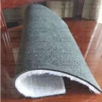 9MM聚酯纤维复合卷材 聚酯纤维保温隔声棉