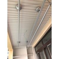 成都万家堡阳台吊顶装修材料竹木纤维板客厅护墙板