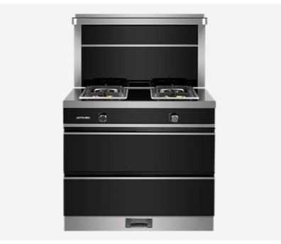 奧田廚電90A5集成灶側吸下排靜音消毒柜無煙-- 奧田廚電