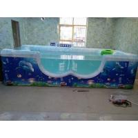 15年品质 厂家直销 亚克力儿童游泳池 婴幼儿游泳池