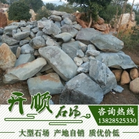 英德青石景观石丨驳岸青石景观石丨天然园林景观石