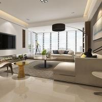 arrow箭牌瓷砖金丝沁玉 简约现代全抛釉砖 客厅卧室地砖地
