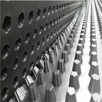 荊州h2cm h3cm塑料排水板A 地下車庫屋頂綠化卷材價格
