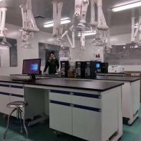 实验室钢木全钢实验台操作台中央台边台中央实验台