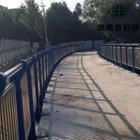 河道灯光不锈钢护栏安装
