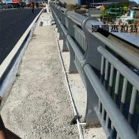 橋梁鋼管護欄燈光橋梁景觀欄桿