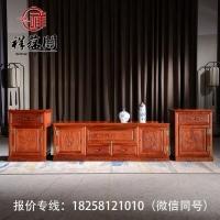 红木客厅电视柜 中式红木电视柜款式 红木电视柜家具