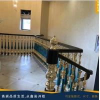 孔雀石翡翠绿铜立柱铜单支别墅酒店专用