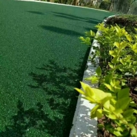 彩色沥青用草绿 翠绿 正绿色粉 绿色沥青路面价格