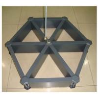 六角型鋁格柵吊頂廠家工程裝飾木紋鋁格柵天花