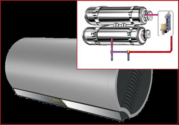 广东吉宝厚膜储水式电热水器方案