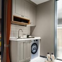 阳台储物柜/洗衣机伴侣定制