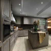 轻奢系列厨房定制 不一样的质感