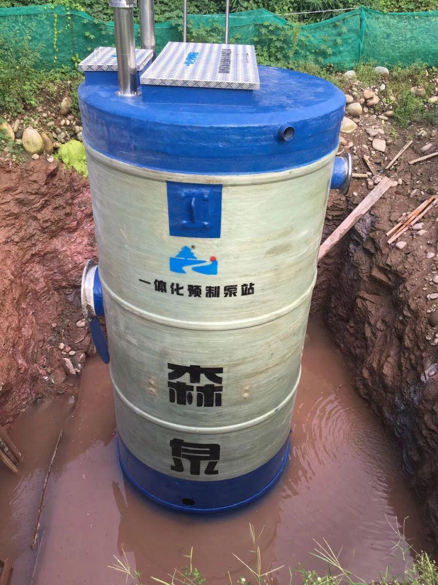四川一�w化污水提升泵站