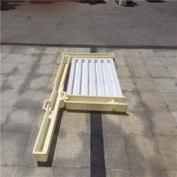 铁路护栏模具 标准高度长度护栏 水泥预制护栏