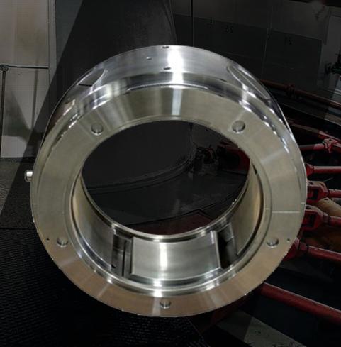 加工生产鼓风机支撑 止推轴承修复
