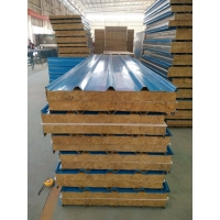 江苏恒海生产彩钢岩棉夹芯板
