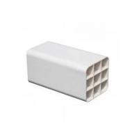 多孔PVC通信管穿线管梅花管室外分纤箱光缆交换箱