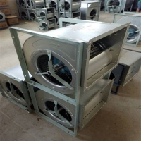 外转子空调风机 镀锌板空调风机2.8L天津外转子风机