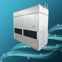 镀铝锌板闭式冷却塔 40T方形闭式冷却塔 逆流式冷却塔