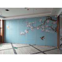包房折叠隔断屏风 广东赛勒尔贴画折叠屏风隔断供应