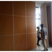 深圳会议厅吊轨折叠屏风隔断厂家全包