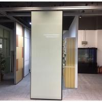 赛勒尔吊轨式烤漆玻璃隔断厂家