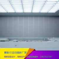 赛勒尔定制安装大型会议室推拉折叠板门