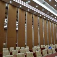 深圳會議室滑軌折疊隔斷移動屏風墻設計安裝