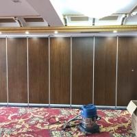 惠州饭店餐厅折叠隔断推拉屏风墙设计厂家