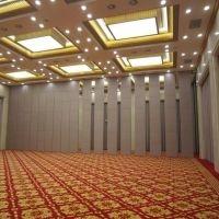 惠州大型宴会厅推拉隔断隔墙伸缩门厂家