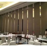 惠州赛勒尔宴会厅隔断折叠门定制定制