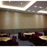 深圳觀瀾餐廳折疊隔斷推拉屏風門上面安裝