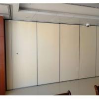 深圳舞蹈室折叠隔断隔墙吊趟门设计