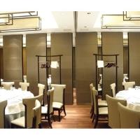 广州餐厅折叠滑轮隔断推拉门厂家