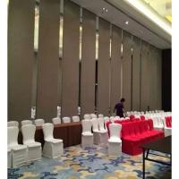东莞酒店移动折叠隔断活动屏风门供应厂家