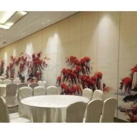 深圳赛勒尔餐厅贴画折叠屏风隔断隔音墙定制