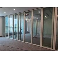 深圳会议室折叠玻璃隔断推拉屏风隔音墙定做供应