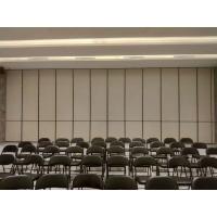 惠州会议室折叠移动隔断隔音墙吊趟门供应厂家