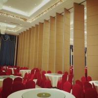樟木头酒店超高活动隔断赛勒尔折叠屏风隔断推拉门设计