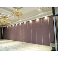 深圳南山宴会厅移动隔断隔音墙 85型活动隔断吊折门设计安装