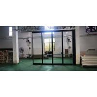 深圳 会议室玻璃折叠隔断隔音墙吊折门上门安装