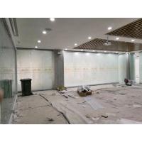 惠州活动隔断墙厂家 赛勒尔磨砂玻璃隔断折叠门定制