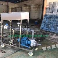 丙二醇槽车自动定量装桶计量系统