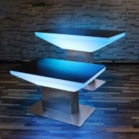 夜店LED发光防水桌子